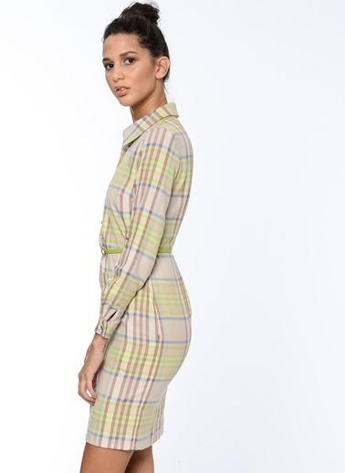 Gömlek Elbise-Bovona